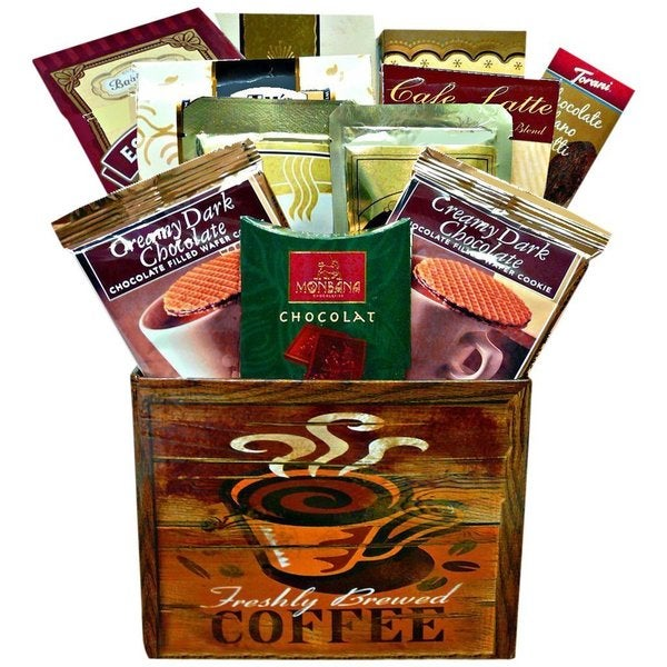 Discontinued~Coffee Break Snacks And Treats Gourmet Gift Box 15864483