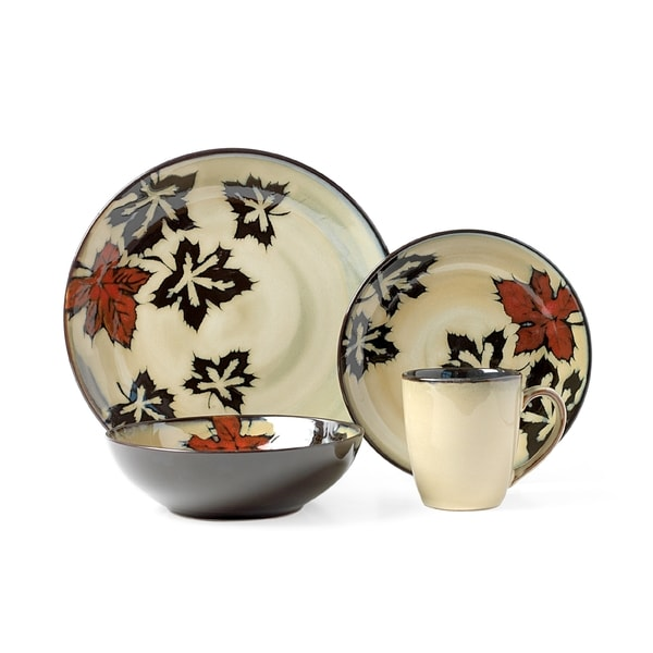Pfaltzgraff Falling Leaves 16-piece Dinnerware Set