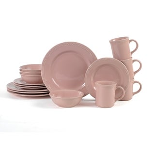 Pfaltzgraff Fillgree Pink 16-piece Dinnerware Set