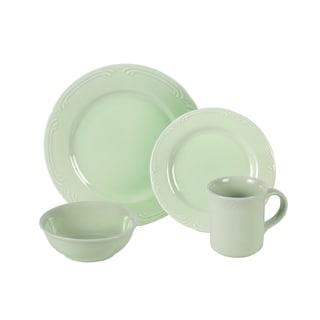 Pfaltzgraff Filigree Sage 16-piece Dinnerware Set