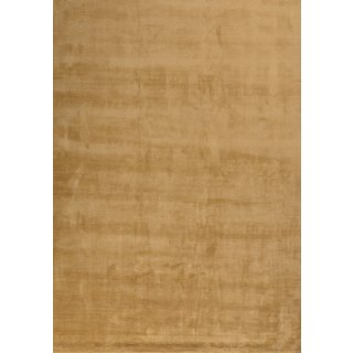 Hand-tufted Ashlee Gold Area Rug (8' x 10')