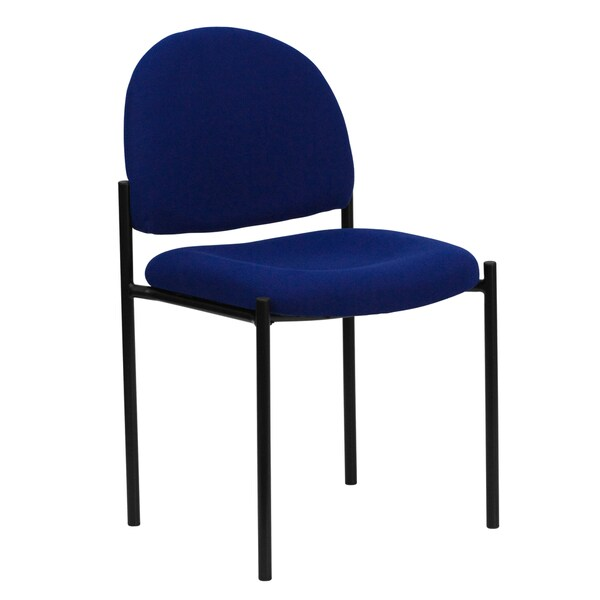 Pagoda Blue Upholstered Stack Dining Chairs