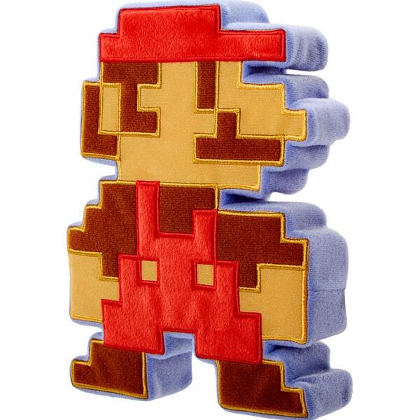 Mario 8-bit 9-inch Retro Plush Doll