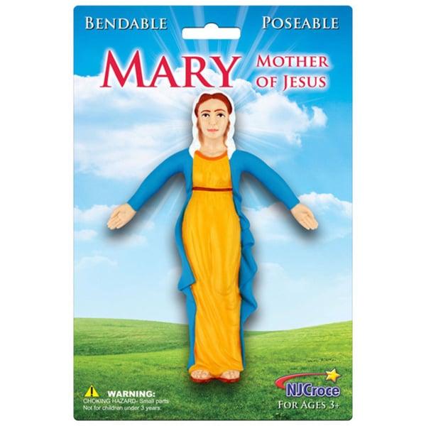 Virgin Mary Bendable Figure 15864772