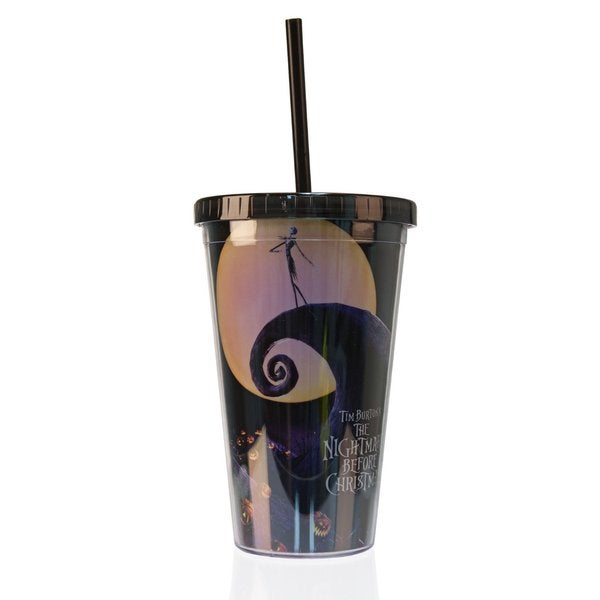 The Nightmare Before Christmas Acrylic Travel Tumbler