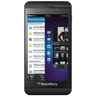 Blackberry Z10 16GB 4G LTE Verizon/Unlocked GSM Certified Cell Phone - Black