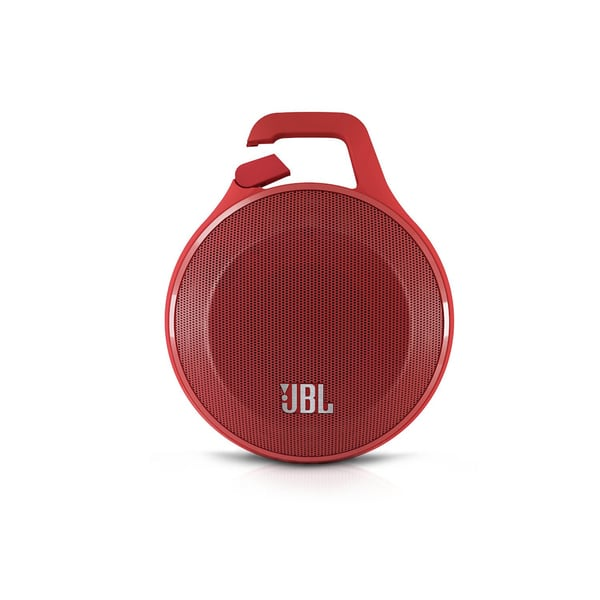 JBL Clip Portable Bluetooth Speaker (Red)