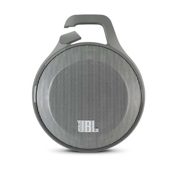 JBL Clip Portable Bluetooth Speaker (Grey)