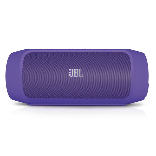 JBL Charge 2 Portable Wireless Bluetooth Speaker with Built-In Mic and PowerBank (Purple)