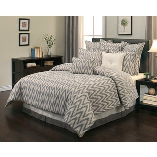 Sherry Kline Rockwell Reversible 8-piece Comforter Set