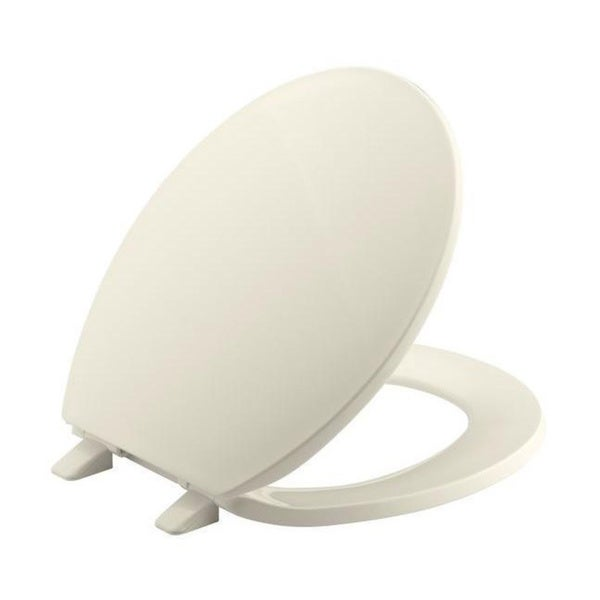 Brevia Round Closed Front Toilet Seat with Quick-Release Hinges