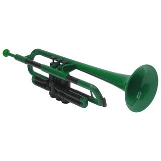 Pbone Green Plastic Trumpet