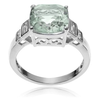 Journee Collection Sterling Silver Multi-gemstone Ring