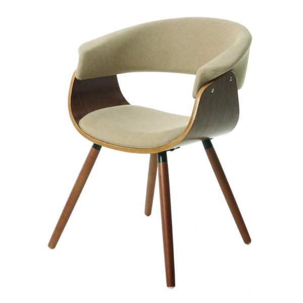 Olivia Beige/ Brown Side Chair