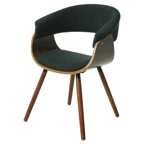 Olivia Grey/ Brown Side Chair