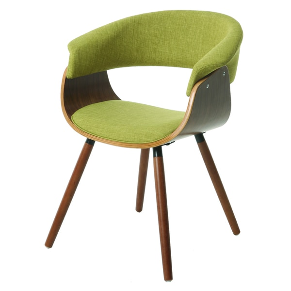 Olivia Green/ Brown Side Chair