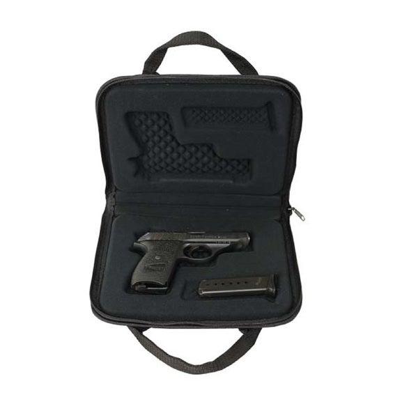 Snug Fit Universal Auto Pistol Case Black