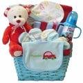 Art of Appreciation Go Go Baby Boy Teddy Bear Gift Basket