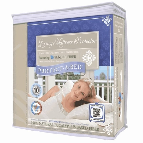 Protect-A-Bed Luxury Waterproof Mattress Protector Cal-King Size (As Is Item)