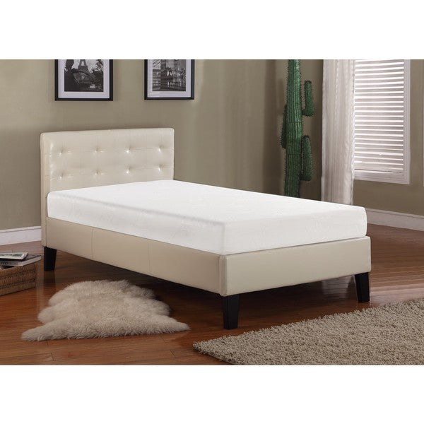 K & B 8-inch Twin-size Memory Foam Mattress