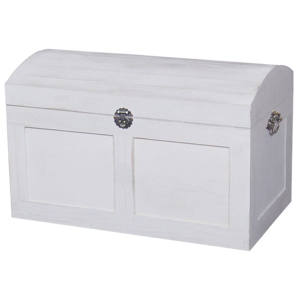White Barn Wood Trunk