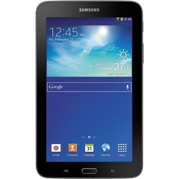 "Samsung 8GB Galaxy Tab 3 Lite Multi-Touch 7.0"" Tablet (Wi-Fi Only, Dark Gray)"