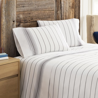 Tommy Hilfiger Buckaroo Stripe Pillowcases TC 200 (Set of 2)