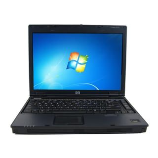 HP Compaq 6510B 14.1-inch 1.8GHz Intel Core 2 Duo 2GB RAM 250GB HDD Windows 7 Laptop (Refurbished)