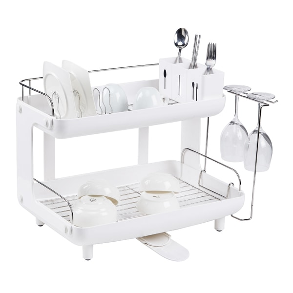 Naturnic Curved 2-story Dish Rack