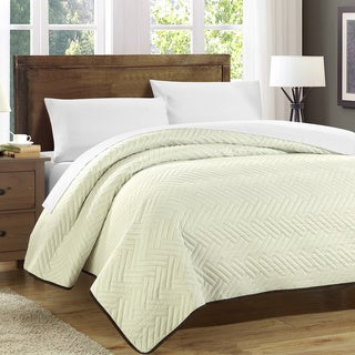 Chic Home Marian Blocks Mellorica Reversible Quilt