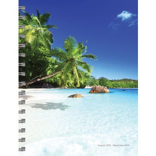 Tropical Beaches Aug 2015-Dec 2016 Spiral Engagement Planner