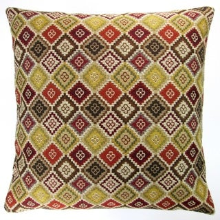 Artisan Pillows Indoor 20-inch Brown Geometric Southwestern Country Western Accent Throw Pillow