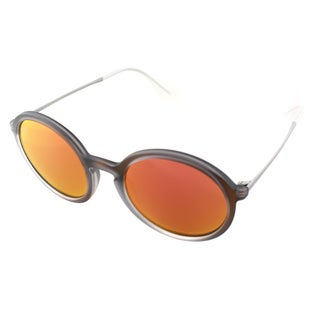 Ray-Ban Unisex RB 4222 6167/6Q Red Rubber Round Sunglasses
