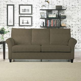 Portfolio Rockford Green Microsuede SoFast Sofa