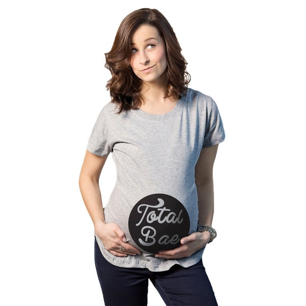 Women's Maternity Total Bae Cotton T-shirt