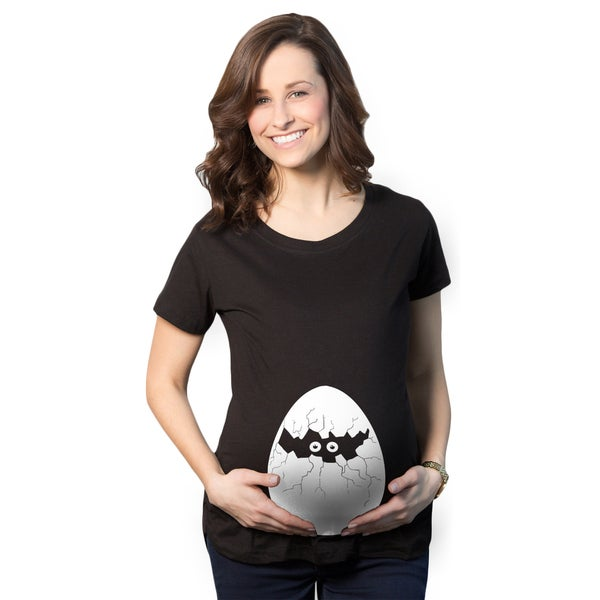 Women's Maternity Hatching Egg Cotton T-shirt