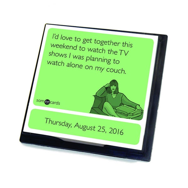 Someecards 2016 Daily Desktop Calendar
