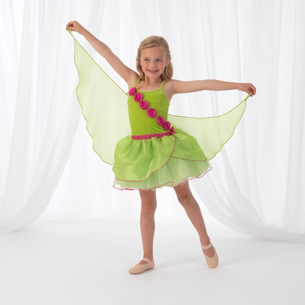 KidKraft Green Winged Fairy Dress Up Costume