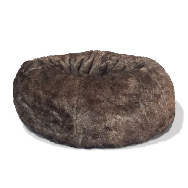 Napper Faux Fur Donut Bed