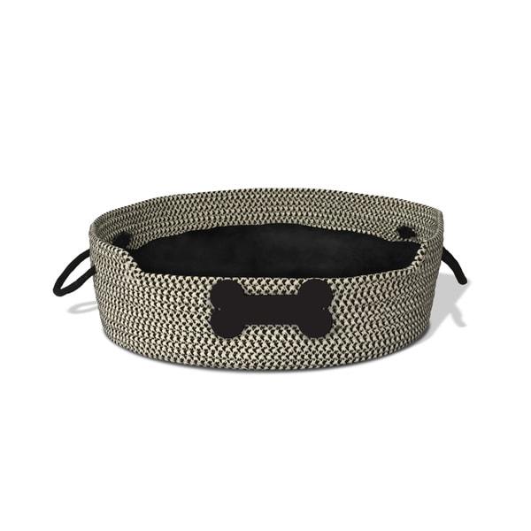 Black Rope Basket Bed