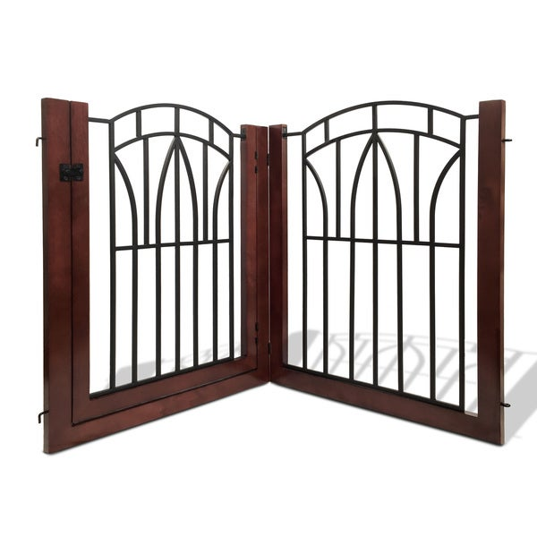 Arlington Pet Gate with Door (2 pieces)