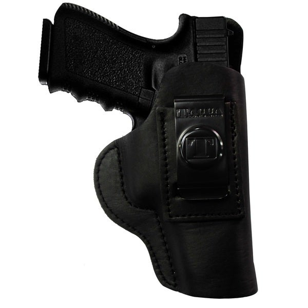 Tagua Glock 43 Super Soft Inside The Pant Holster Black