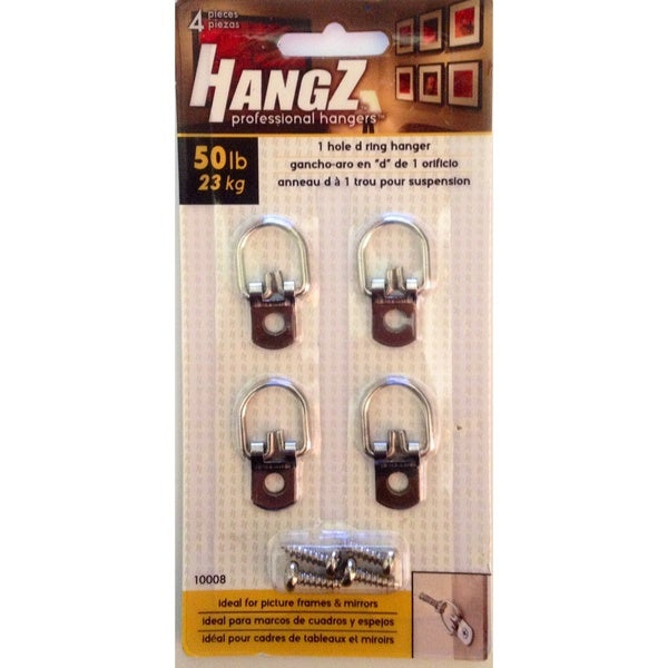 HANGZ 1 Hole D Ring Hanger 50 pound