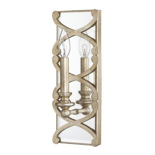 Capital Lighting Alexander Collection 1-light Winter Gold Wall Sconce