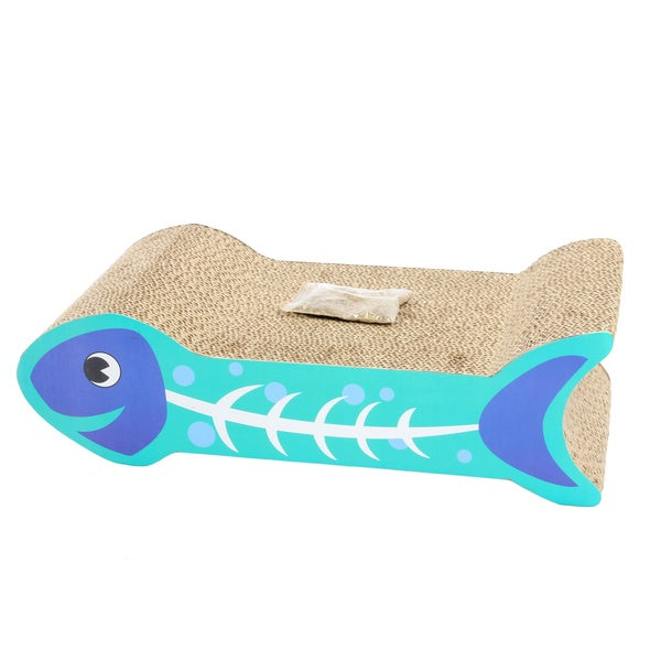 Fish Shape Cat Scratcher