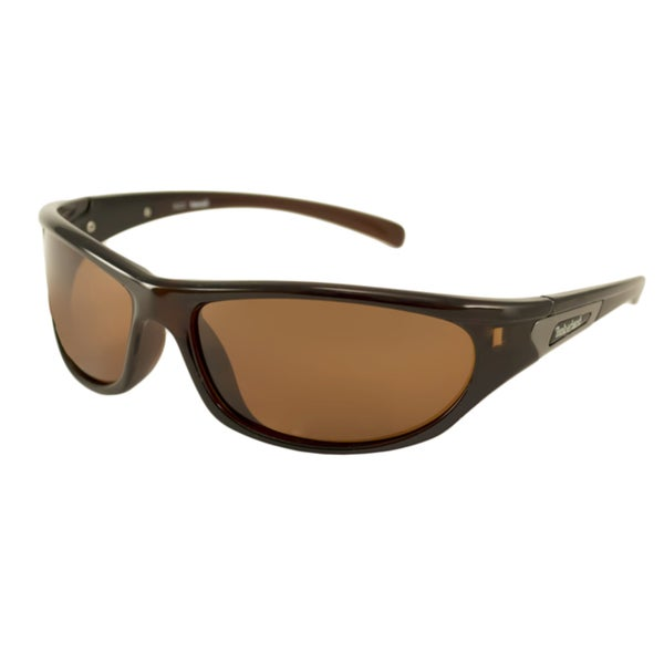 Timberland Men's TB9507 Polarized/ Wrap Sunglasses
