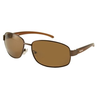 Timberland Men's TB9501 Polarized/ Wrap Sunglasses