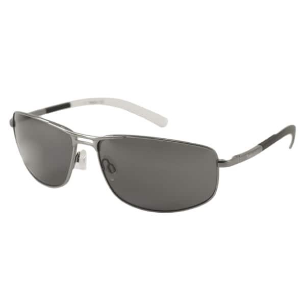 Timberland Men's TB9039 Polarized/ Wrap Sunglasses