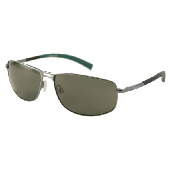 Timberland Men's TB9039 Polarized/ Wrap Sunglasses