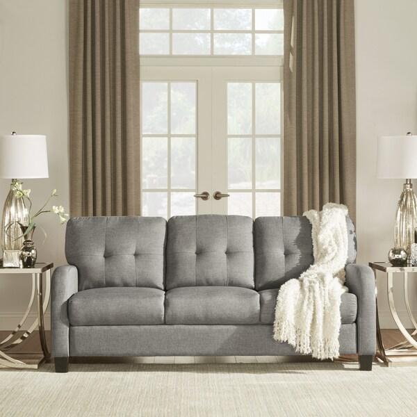 INSPIRE Q Dillion Urban Track Arm Tufted Sofa